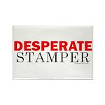 Desperate Stamper Rectangle Magnet (100 pack)