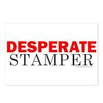 Desperate Stamper Postcards (Package of 8)