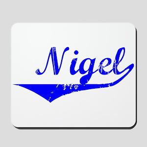 Nigel Vintage (Blue) Mousepad