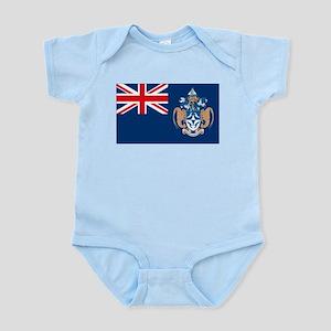 Tristan Da Cunha Flag Infant Creeper