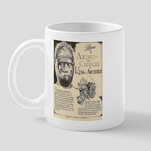 King Arthur Mini Biography Mugs