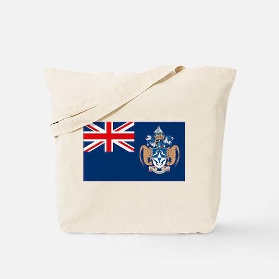 Tristan Da Cunha Flag Tote Bag