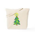 ILY Christmas Tree Tote Bag