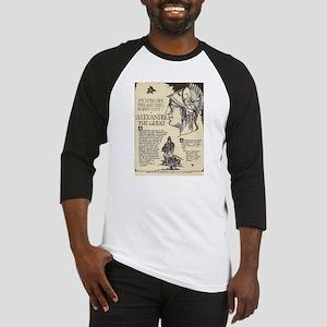Alexander the Great Mini Biography Baseball Jersey