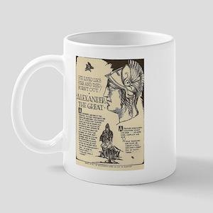 Alexander the Great Mini Biography Mugs