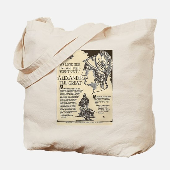 Cute Alexander the great Tote Bag
