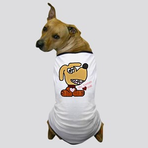 """DOGGIE - MY HUMAN LOVES ME"" Dog T-Shirt"