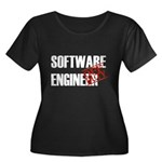 Off Duty Software Engineer Women's Plus Size Scoop