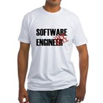 Off Duty Software Engineer Fitted T-Shirt