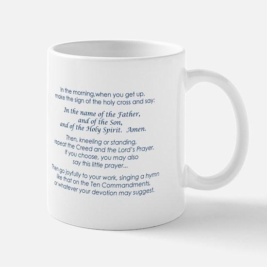 Martin Luther's Morning Prayer Mug