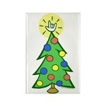 ILY Christmas Tree Rectangle Magnet (10 pack)