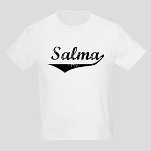 Salma Vintage (Black) Kids Light T-Shirt