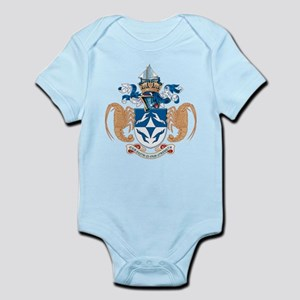 Tristan Da Cunha Coat of Arms Infant Creeper