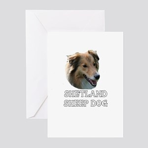Shetland Sheep Dog Greeting Cards (Pk of 10)