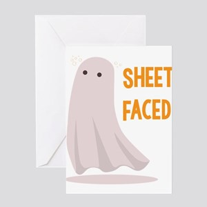 Sheet Faced Greeting Cards