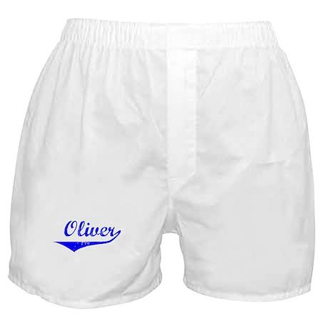 Oliver Vintage (Blue) Boxer Shorts