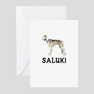 Saluki Greeting Cards (Pk of 10)