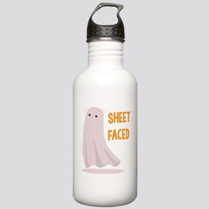 Sheet Faced Stainless Water Bottle 1.0L