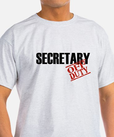 Off Duty Secretary T-Shirt