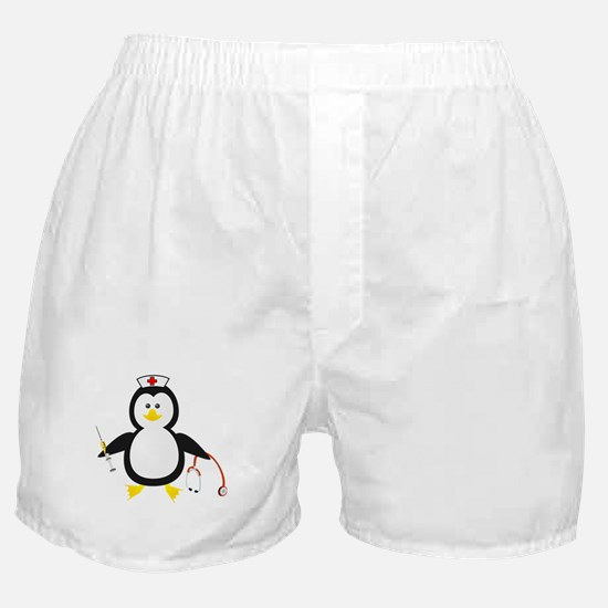 Penguin Nurse Boxer Shorts