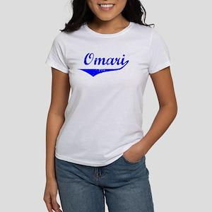 Omari Vintage (Blue) Women's T-Shirt