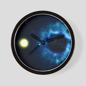 Black Hole & Companion Star - Wall Clock