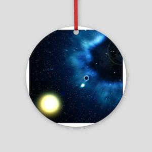 Black Hole & Companion Star - Keepsake (Round)