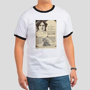 Louisa May Alcott Mini Biography T-Shirt