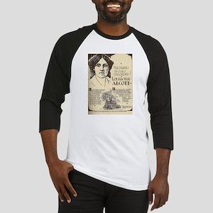 Louisa May Alcott Mini Biography Baseball Jersey