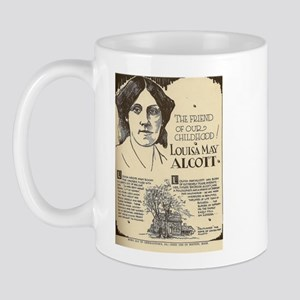 Louisa May Alcott Mini Biography Mugs