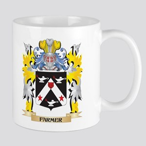 Farmer Coat of Arms - Family Crest Mugs
