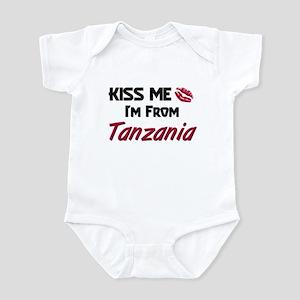 Kiss Me I'm from Tanzania Infant Bodysuit