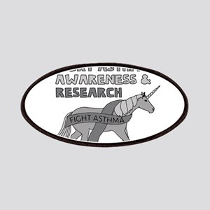 Unicorns Support Asthma Awareness Patch
