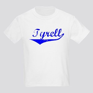 Tyrell Vintage (Blue) Kids Light T-Shirt