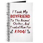 Dumped Boyfriend at animal shelter Journal