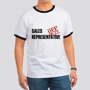 Off Duty Sales Representative Ringer T