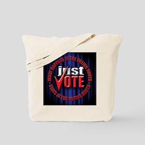 just vote  Tote Bag