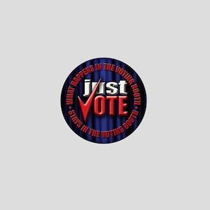 just vote  Mini Button (10 pack)