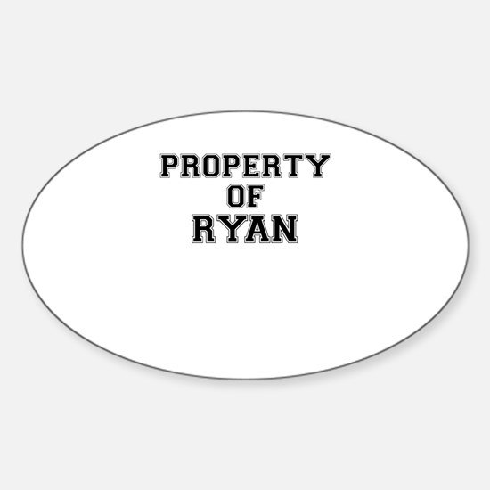 Property of RYAN Bumper Stickers