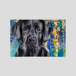 Labrador Painting 4' X 6' Rug