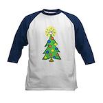 ILY Christmas Tree Kids Baseball Jersey