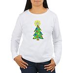 ILY Christmas Tree Women's Long Sleeve T-Shirt