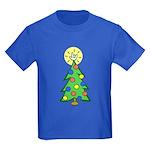 ILY Christmas Tree Kids Dark T-Shirt