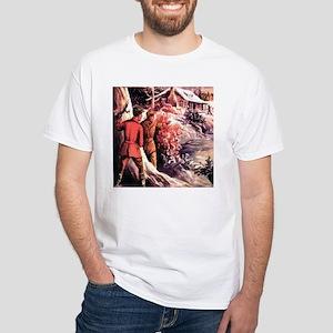 Cabin White T-Shirt