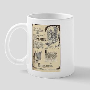 Prince Otto Bismark Mini Biography Mugs