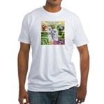 Burdock Fitted T-Shirt