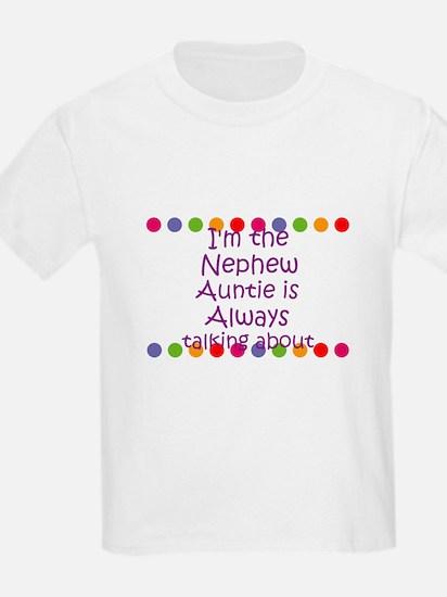 I'm the Nephew Auntie is Alwa T-Shirt