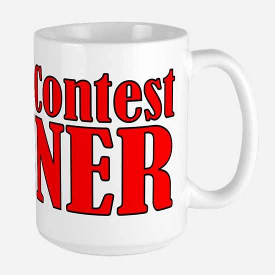 Dance Contest Winner Large Mug