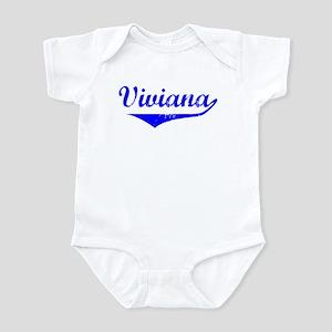 Viviana Vintage (Blue) Infant Bodysuit