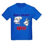 Don't Forget to Vote! Kids Dark T-Shirt